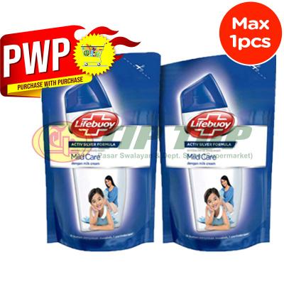 Lifebuoy Body Wash Mildcare White Refill 900ml
