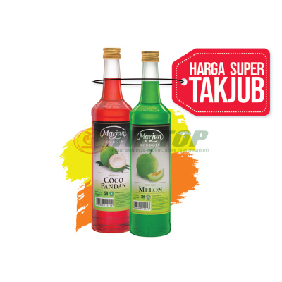 Marjan Syrup Boudoin Cocopandan / Melon 460ml