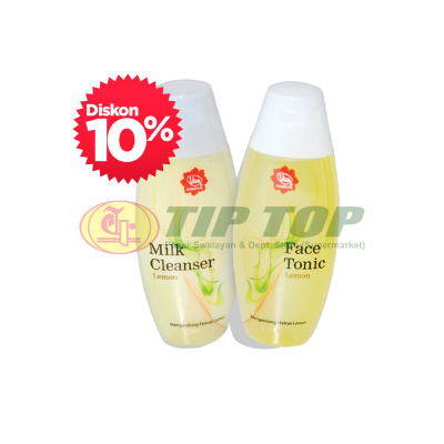 Viva Milk Cleanser, Face Tonic Lemon 200ml