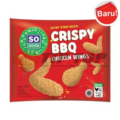 So Good Crispy BBQ Chiken Wings 400gr