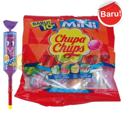 Chupa Chups Melody Pops 15gr, Lolipop Mini Bag 60gr