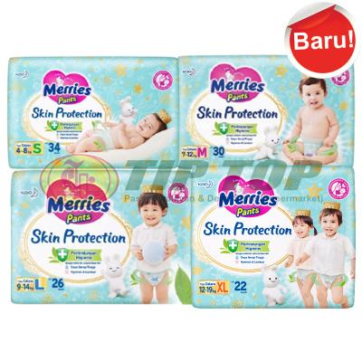 Merries Pants Skin Protection S34, M30, L26, XL22