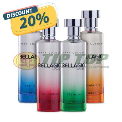 Bellagio Deodorant Spray Semua jenis 100ml