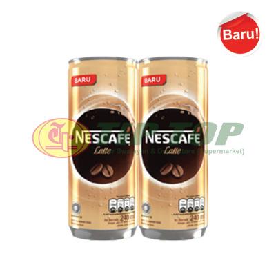 Nescafe RTD Latte Banded 2x240ml