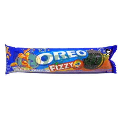 Oreo Sandwich Biskuit Fizzy 123, 5gr