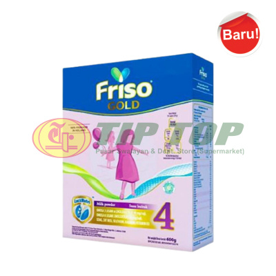 Friso Gold 4 Susu Formula Anak Box 600gr