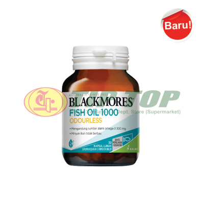Blackmores Odourless Fish Oil 30's