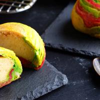 Cheese Rainbow Mooncake
