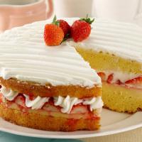 Custard Cake Stroberi