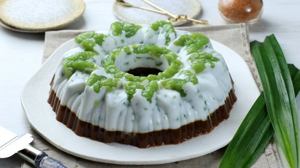 Puding Cake Cendol