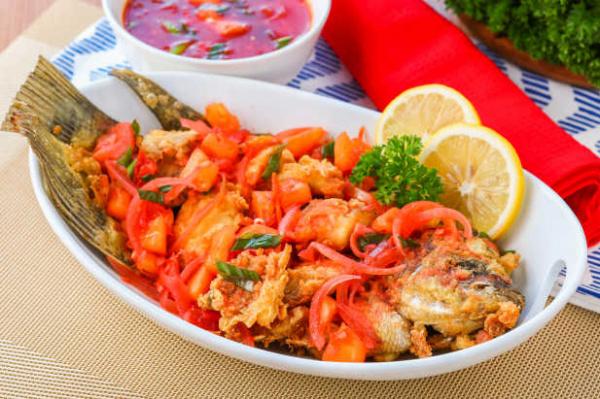 Ikan Goreng Crispy Asam Manis