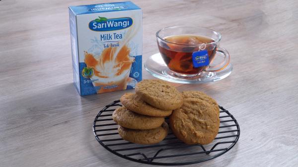 Resep Milk Tea Cookies ㅤㅤㅤㅤㅤ